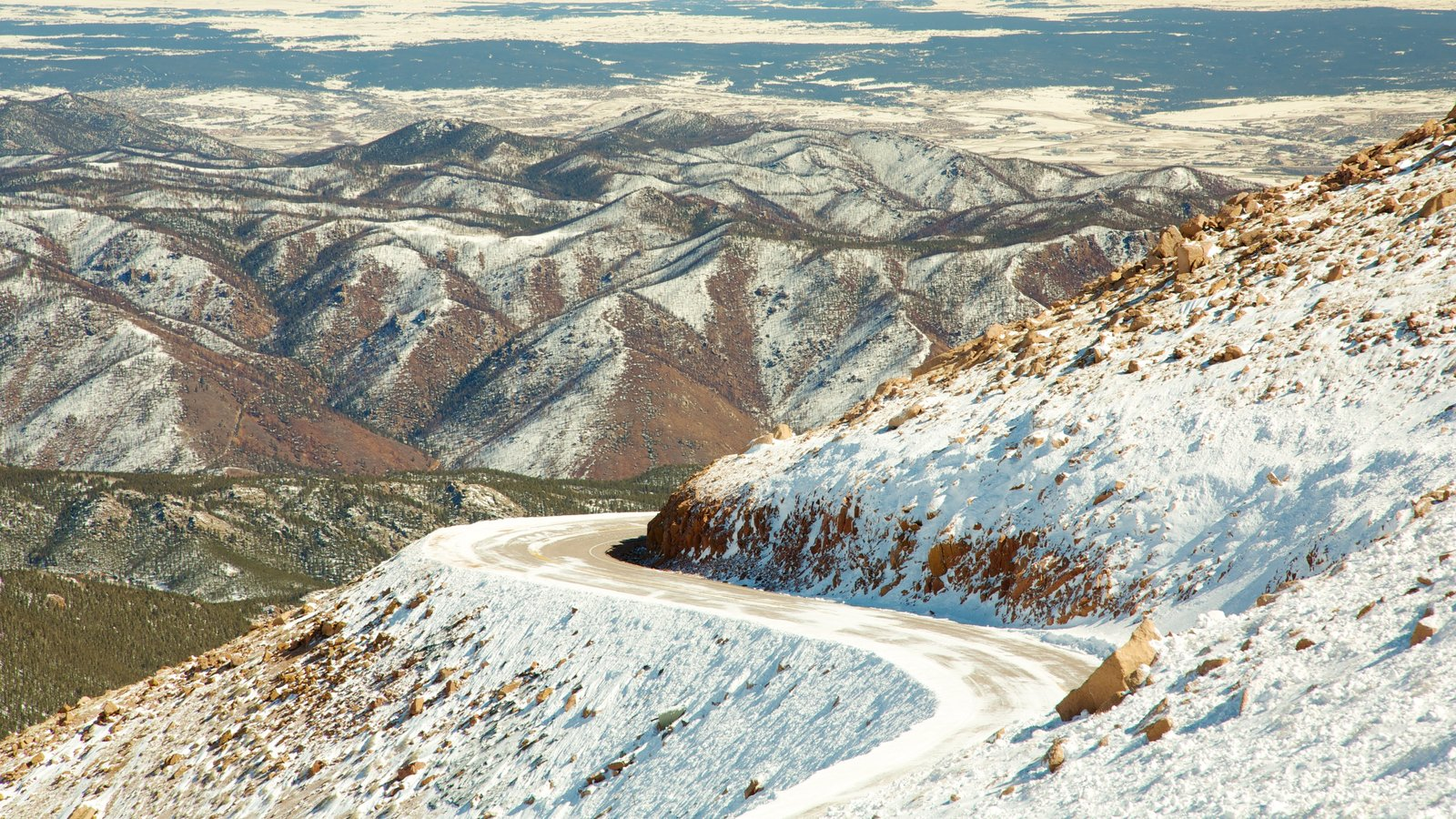 Pikes Peak caracterizando montanhas