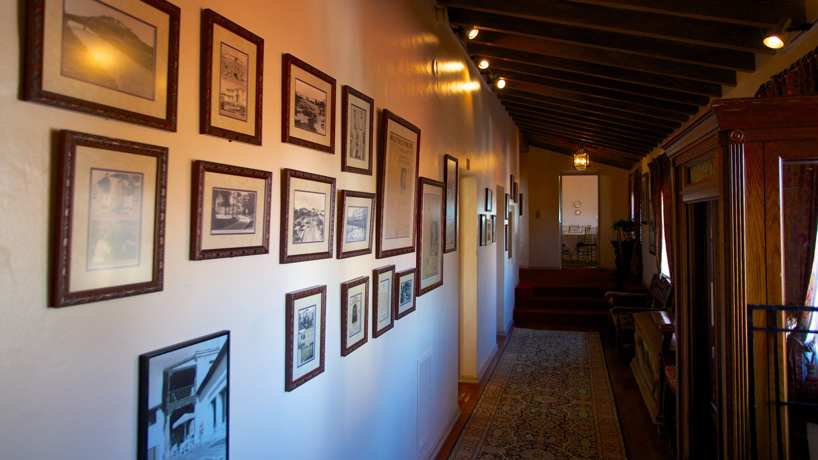Wrigley Mansion showing art and interior views