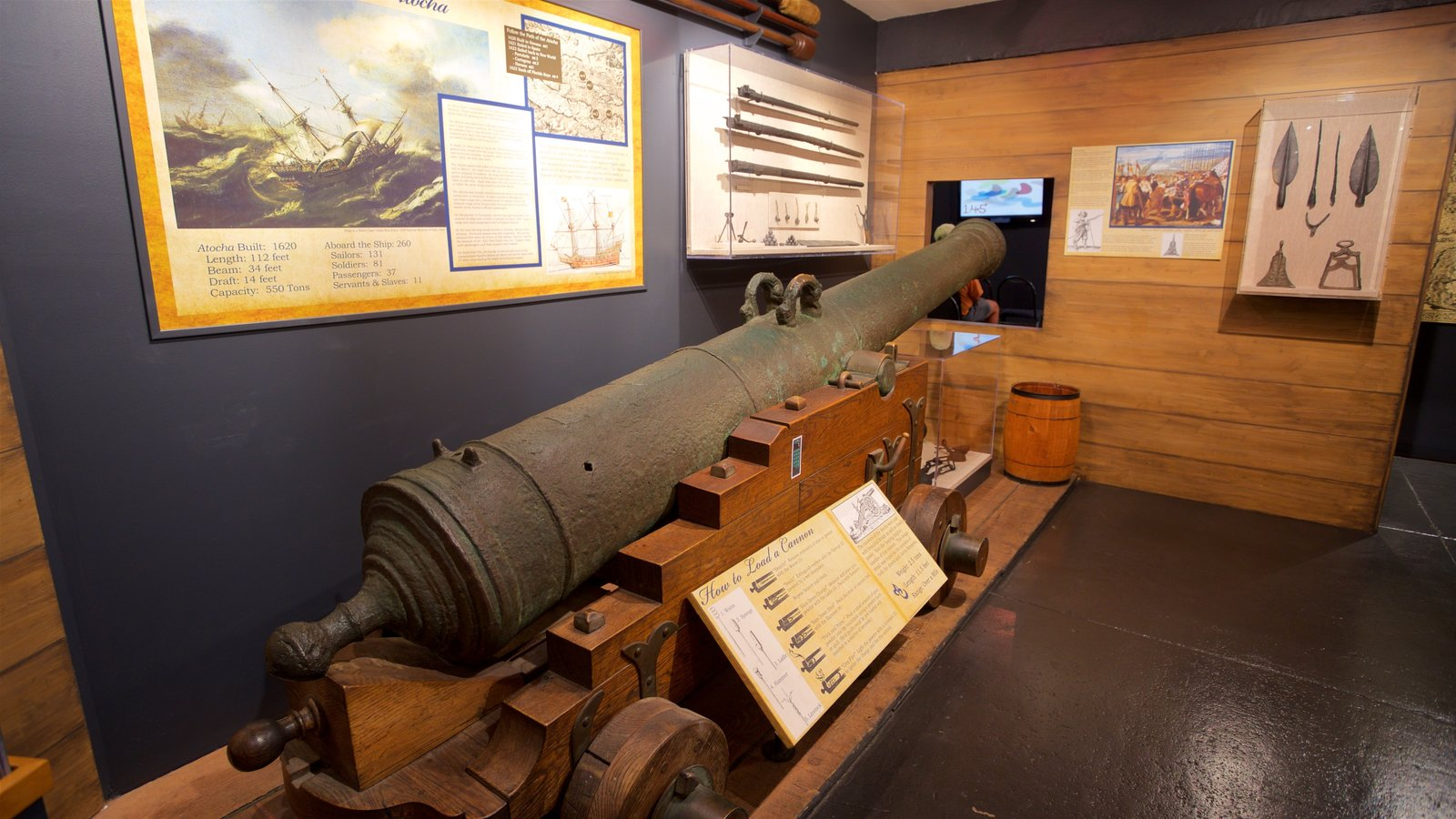 Key West which includes military items, heritage elements and interior views
