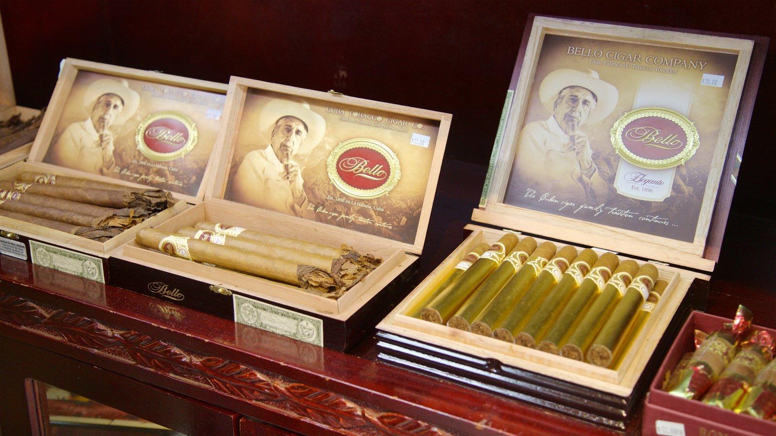 Cuba Tobacco Cigar Co featuring shopping
