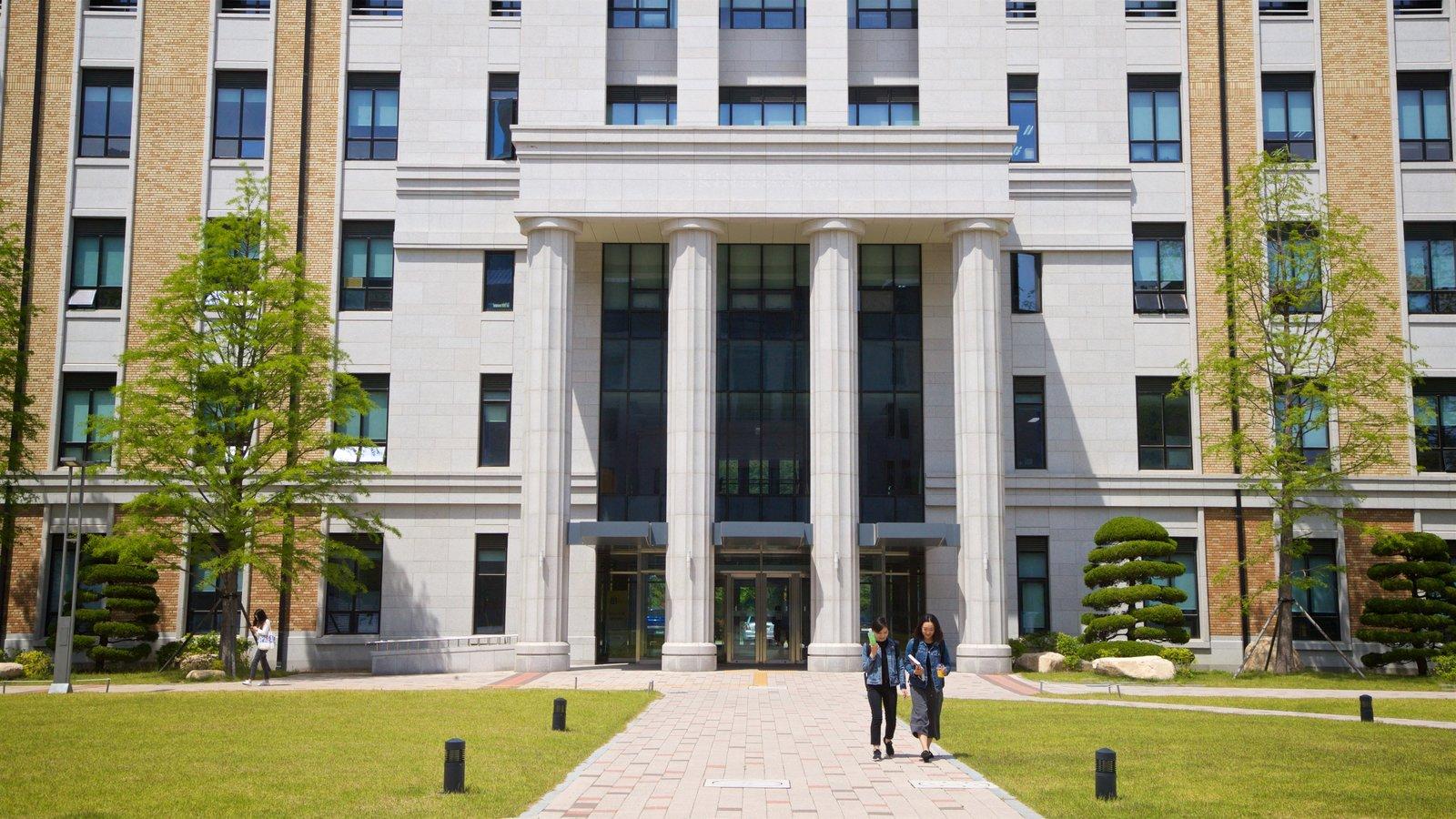 Universidad de Estudios Extranjeros de Busan y también una pareja