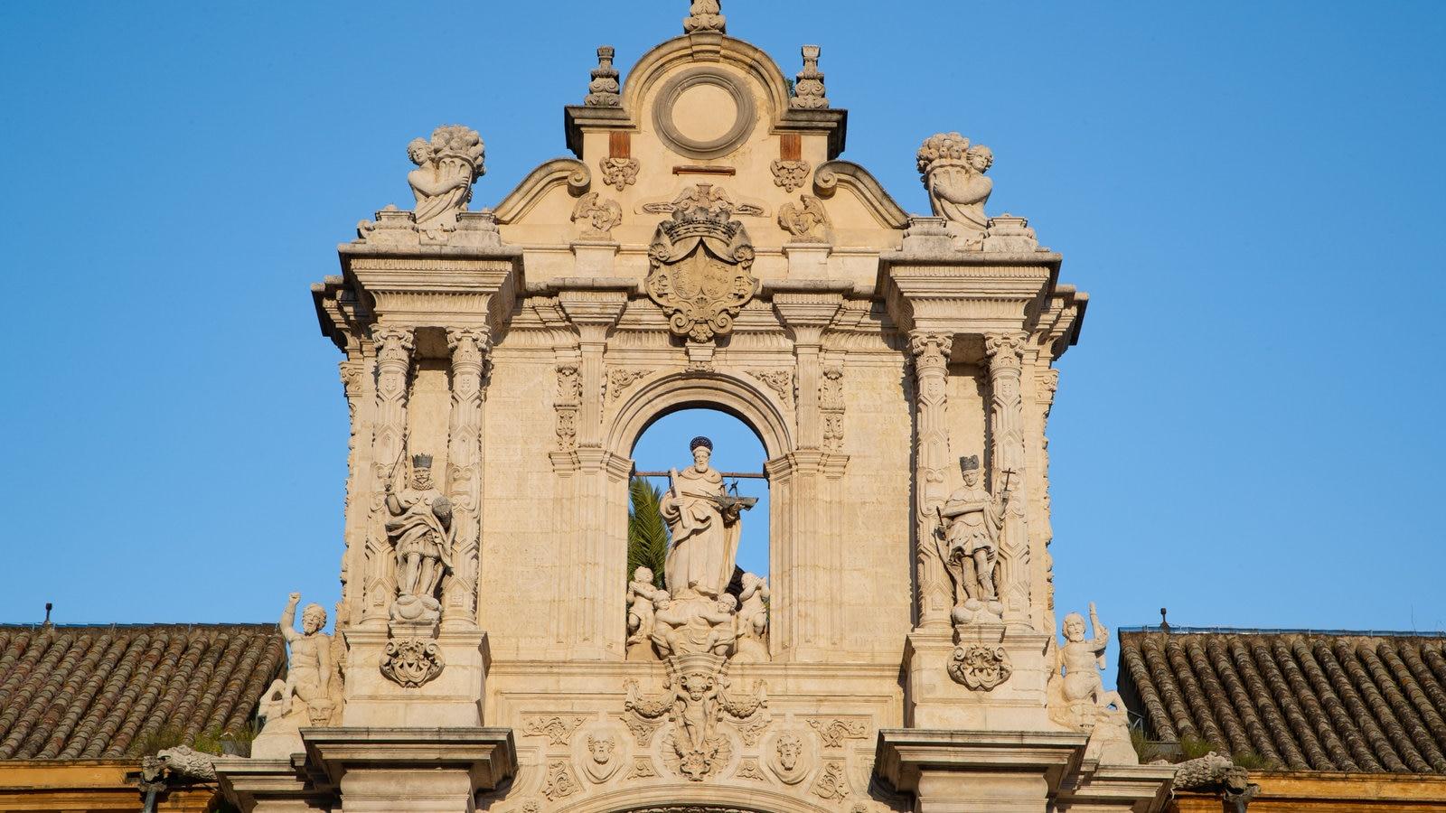 Palacio San Telmo caracterizando elementos de patrimônio