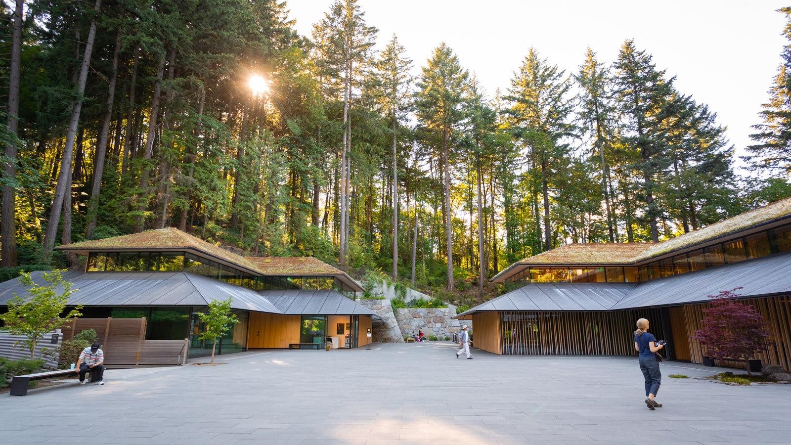 Jardín Japonés de Portland que incluye un parque y un parque o plaza