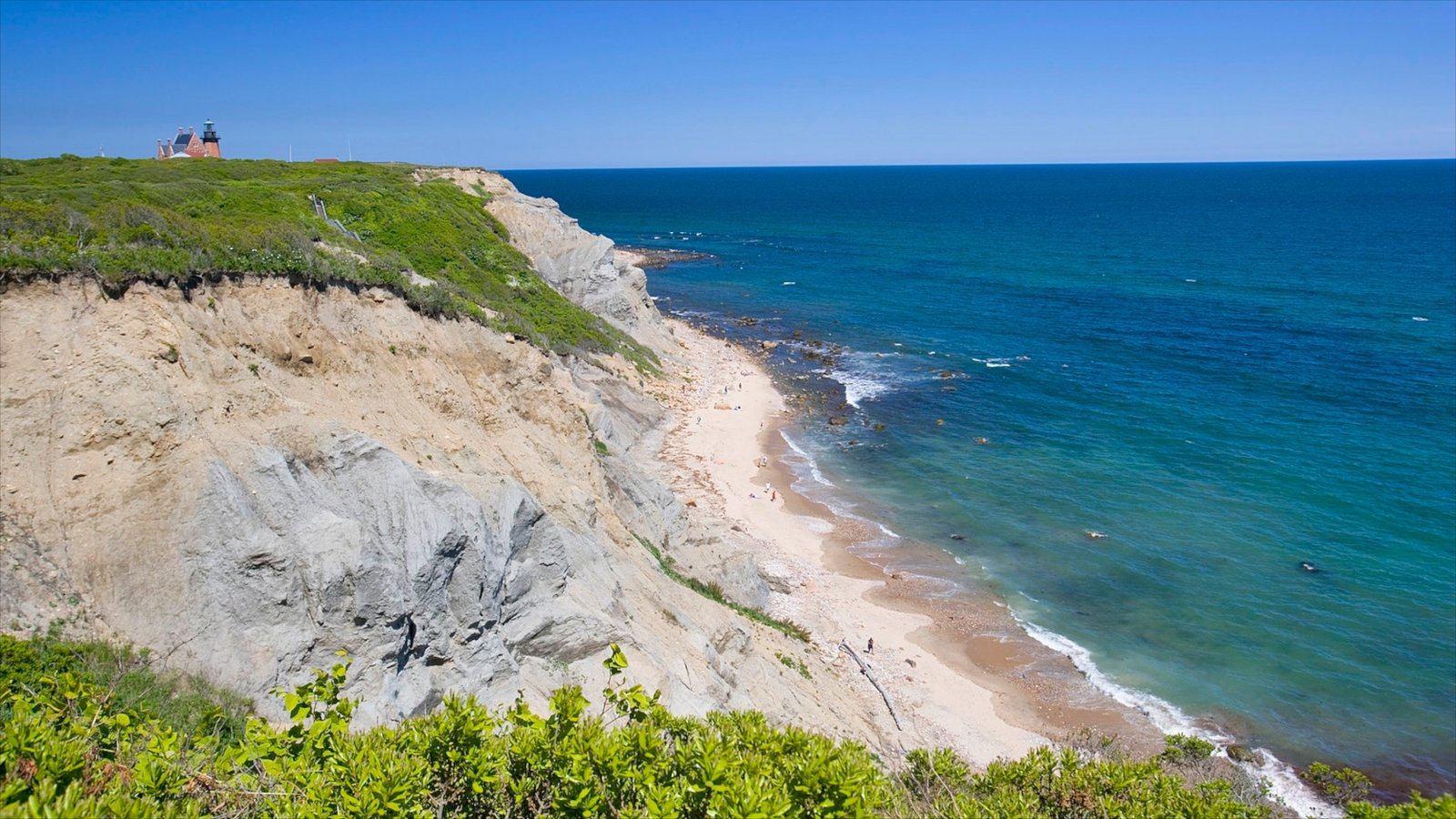 Block Island Which Includes A Beach And Landscape Views