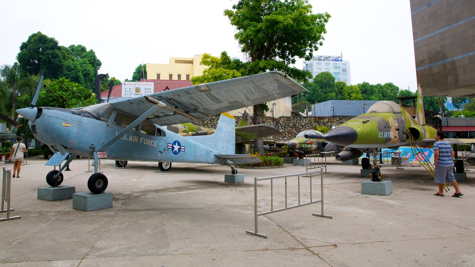 War Remnants Museum which includes aircraft and military items
