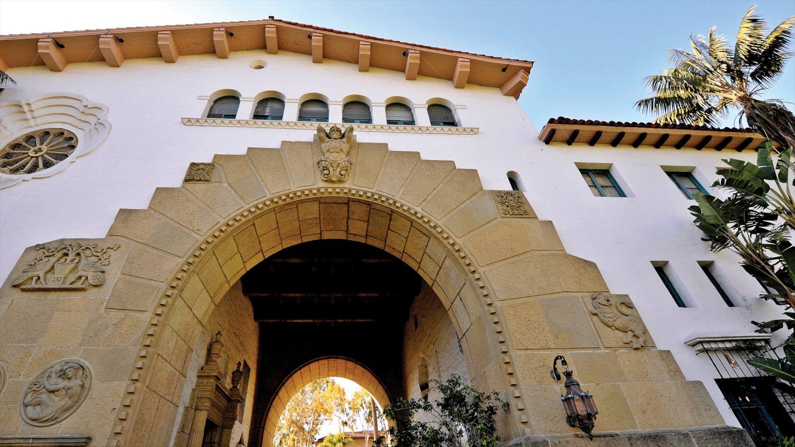 Santa Barbara caracterizando arquitetura de patrimônio