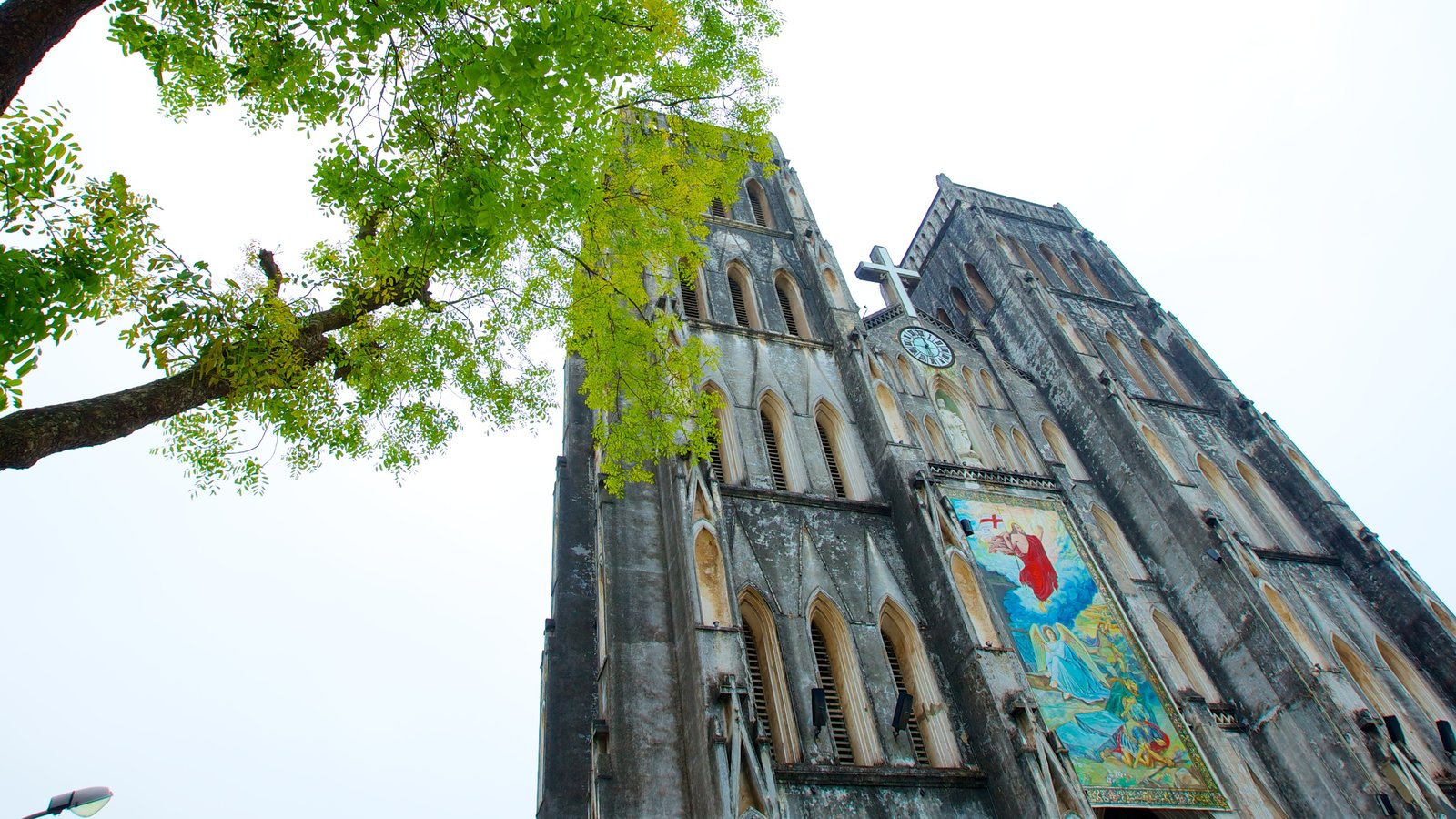 St. Joseph Cathedral which includes a church or cathedral, religious aspects and heritage architecture