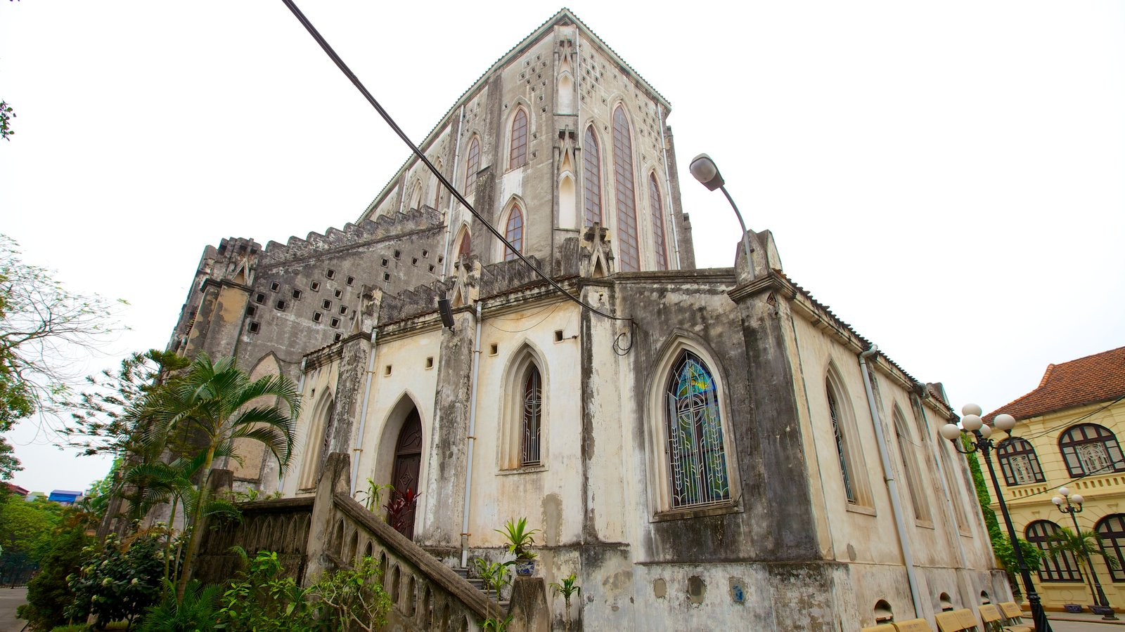 St. Joseph Cathedral featuring heritage architecture, religious elements and a church or cathedral