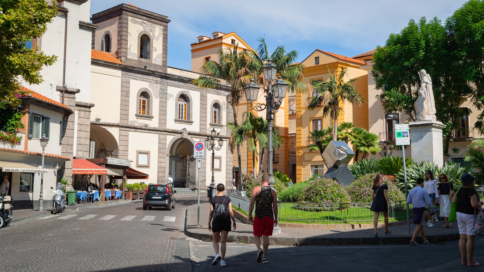 Piazza Sant\'Antonino which includes street scenes as well as a couple