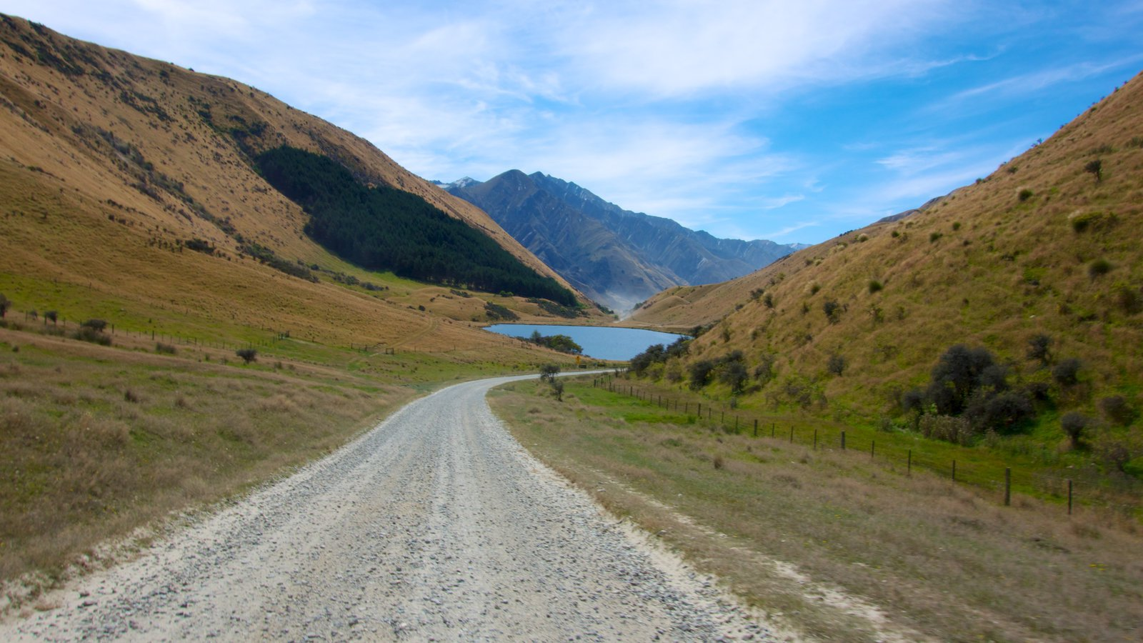 Queenstown featuring tranquil scenes, mountains and landscape views