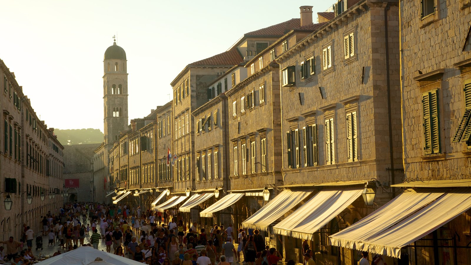 Dubrovnik - Southern Dalmatia which includes a city, street scenes and heritage architecture