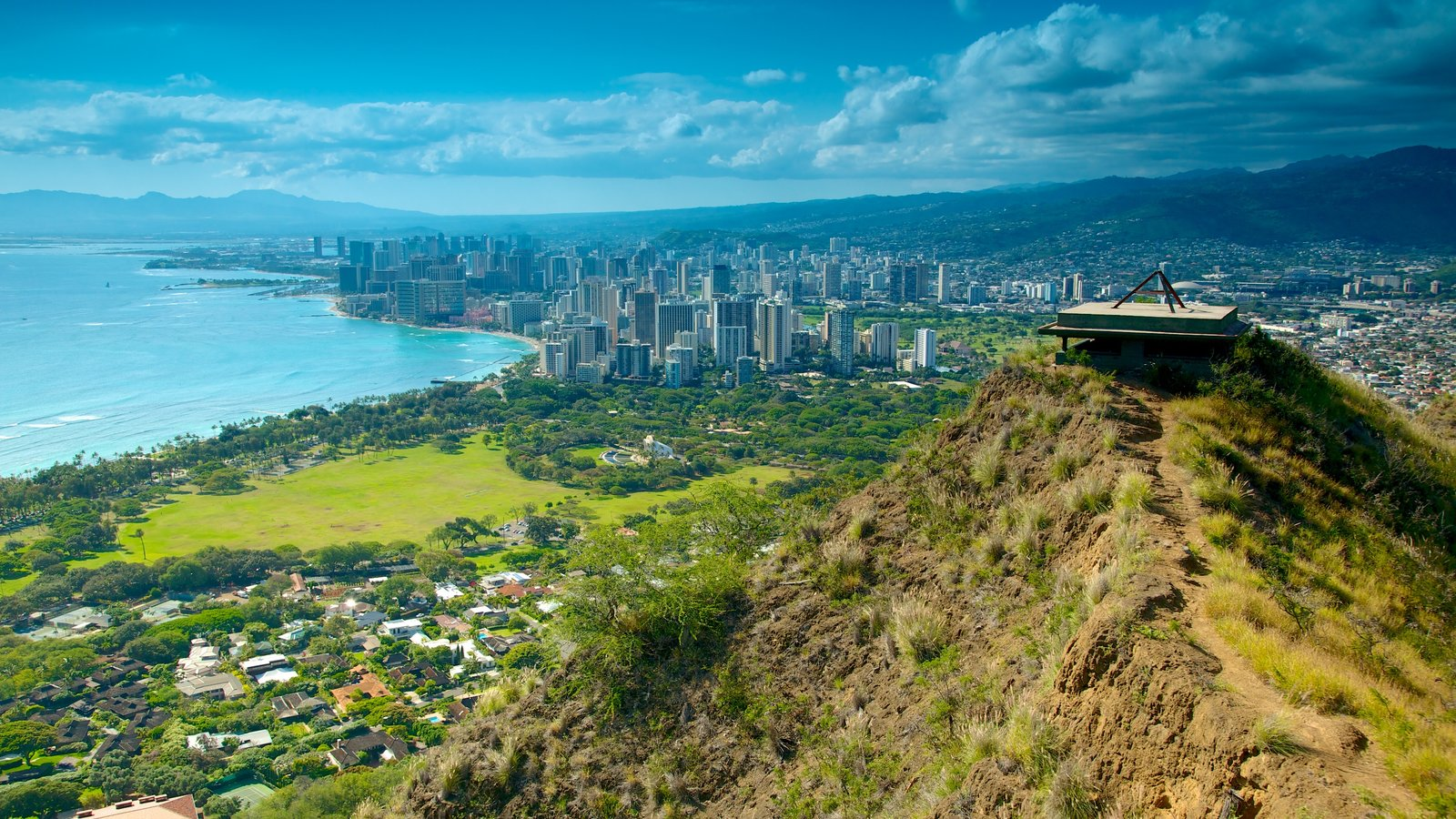view from diamond head - photo #23