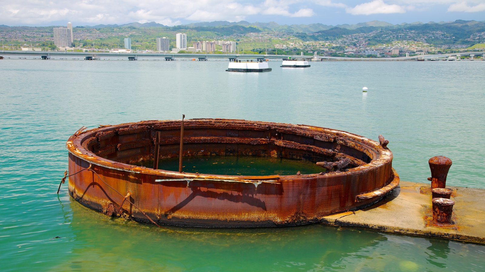 USS Arizona Memorial which includes a memorial