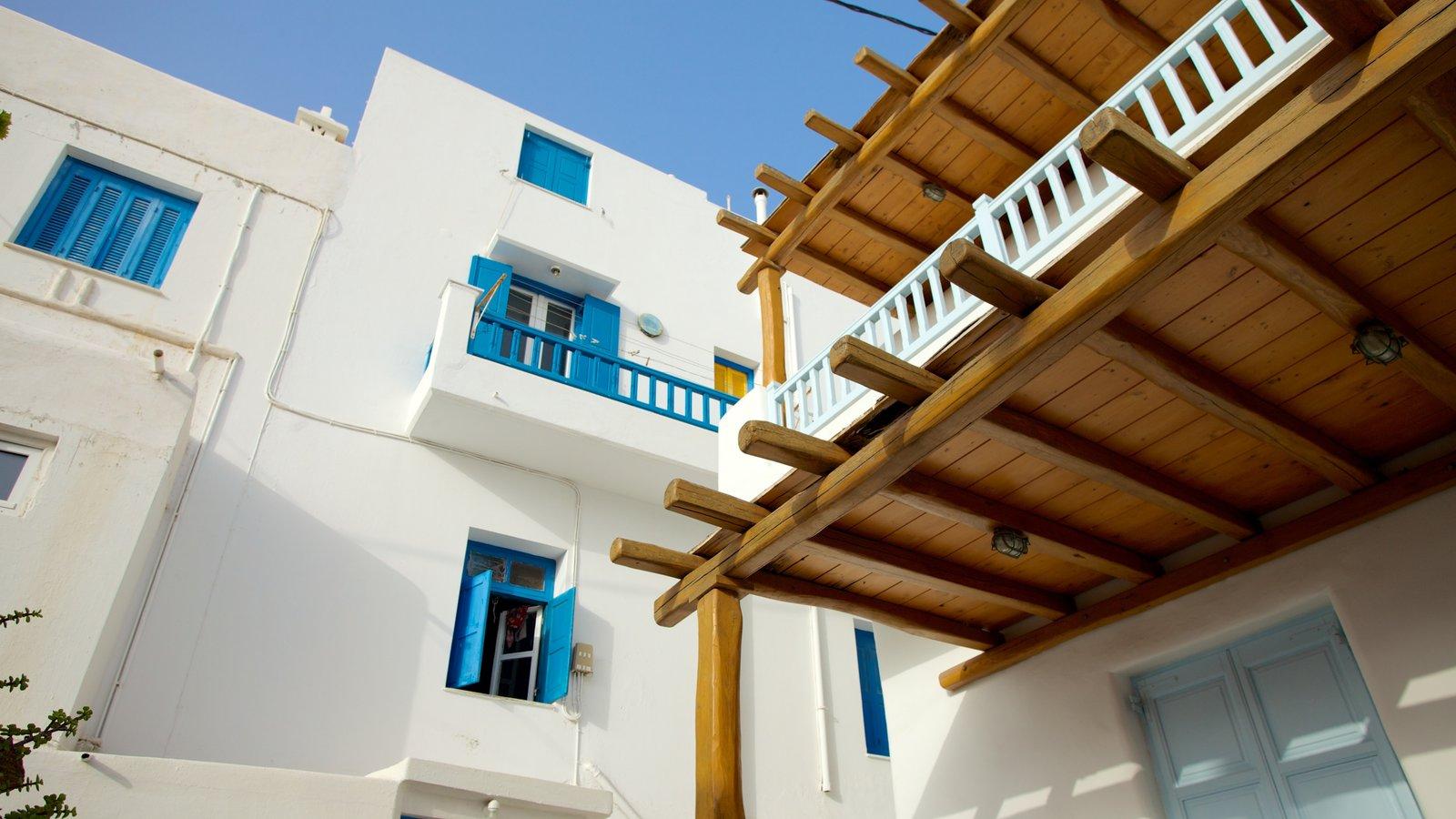 Mykonos Town que inclui uma casa