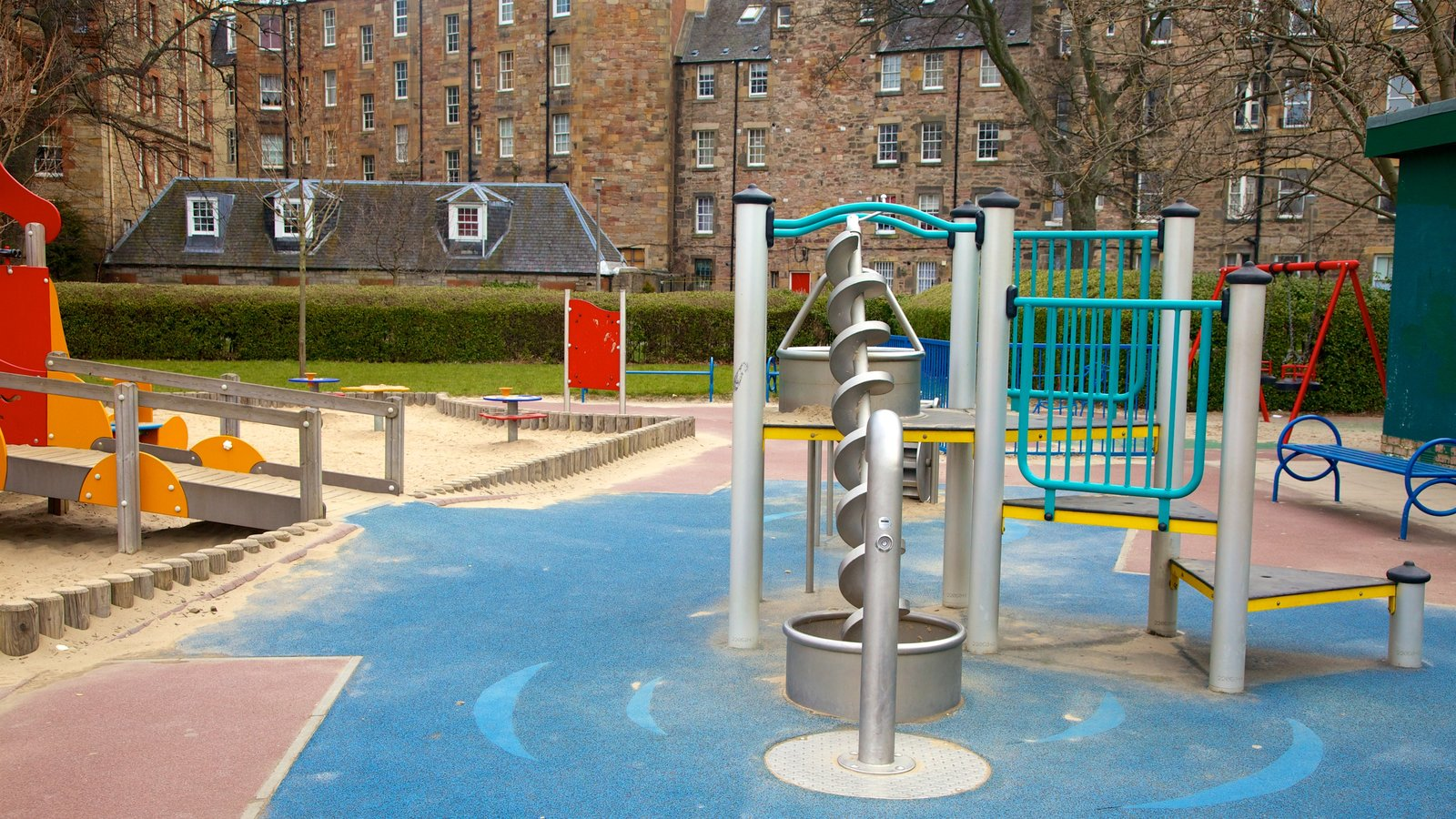 The Meadows showing a playground