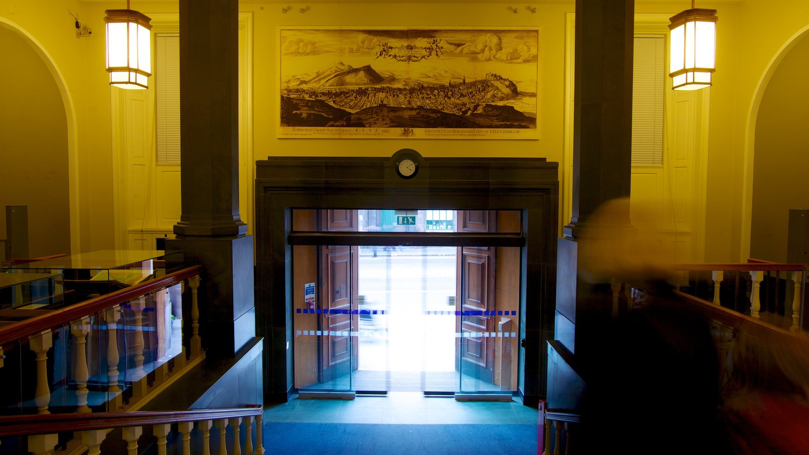 National Library of Scotland which includes interior views
