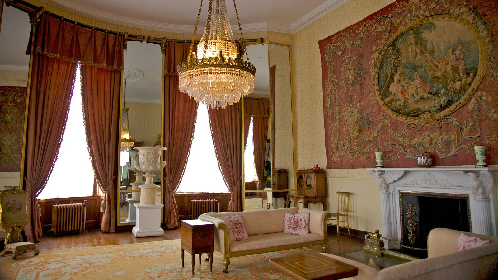 bantry house and garden showing a house interior views and heritage architecture