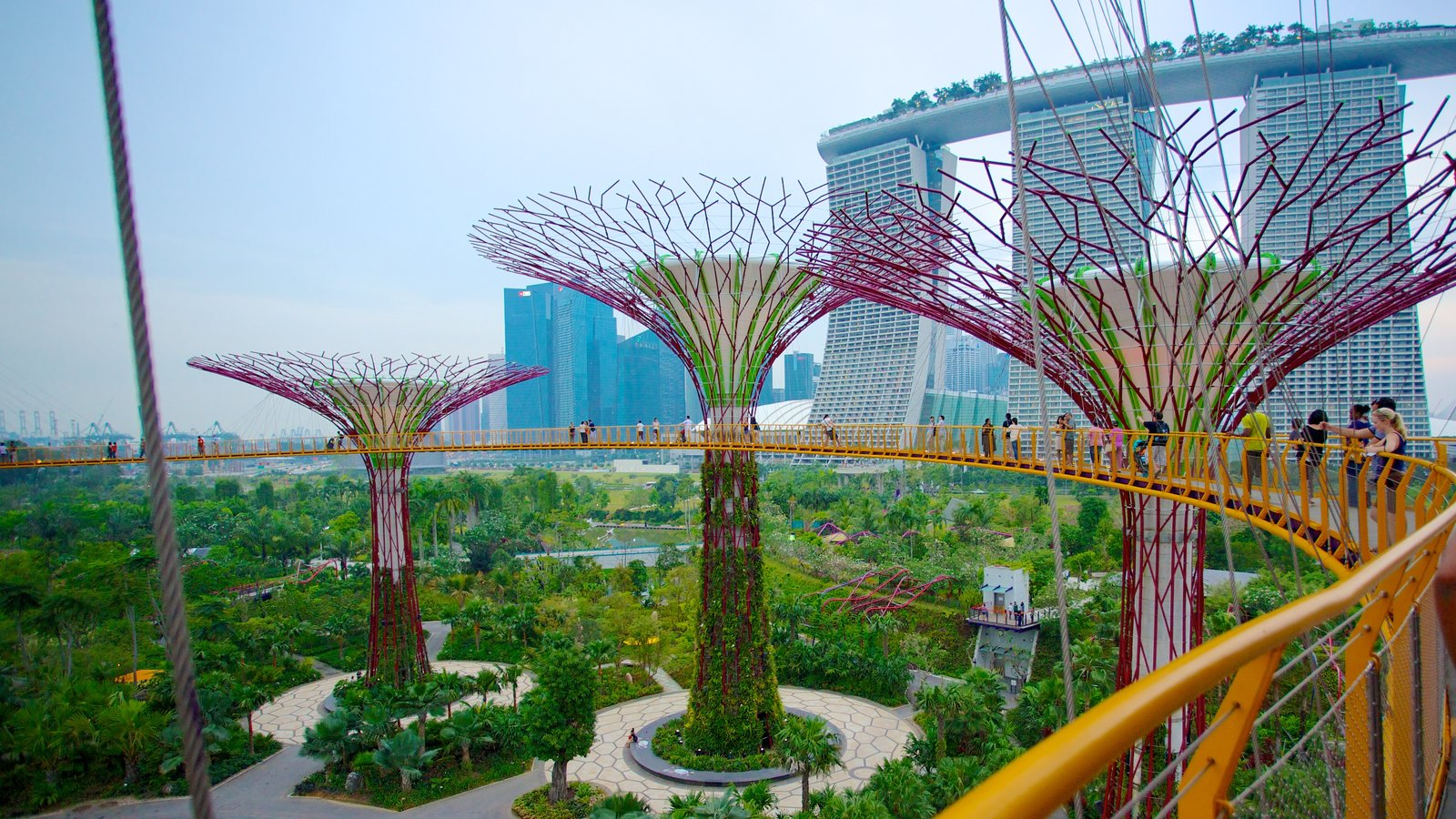 Garden By The Bay Admission gardens_by_the_bay_singapore_aerial_view gardensthe bay 01
