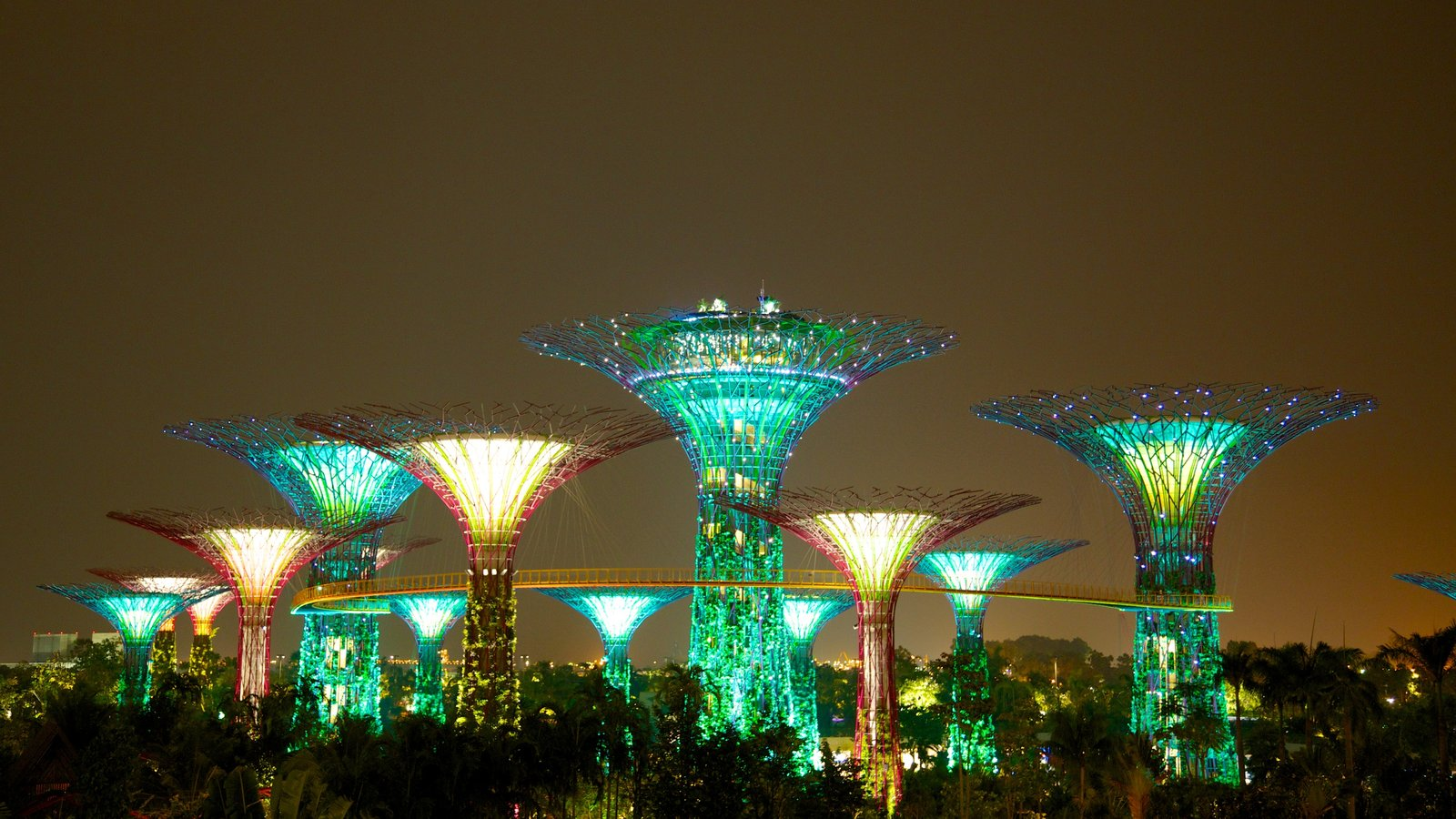 Garden By The Bay Night modern architecture pictures: view images of gardensthe bay