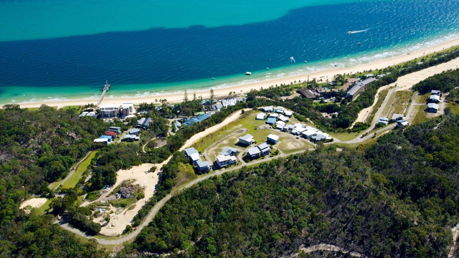 Parque nacional de Isla Moreton ofreciendo vistas generales de la costa