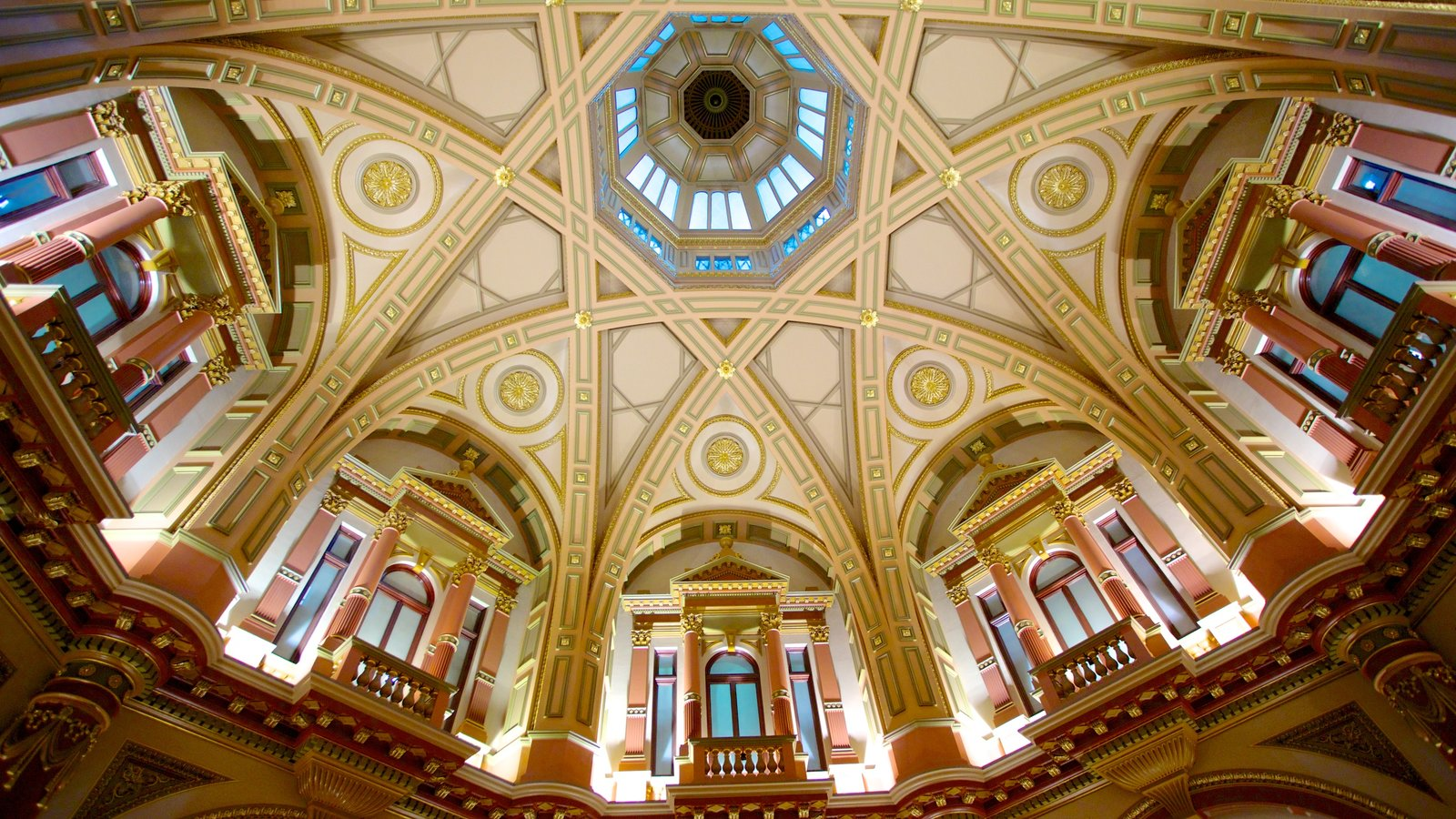 Collins Street showing interior views and heritage architecture