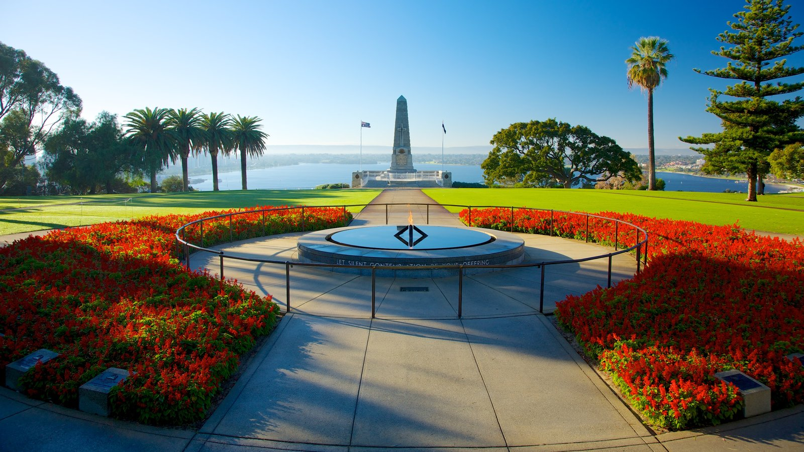 Lovely Kings Park And Botanic Garden Which Includes Wildflowers, A Garden And  Flowers