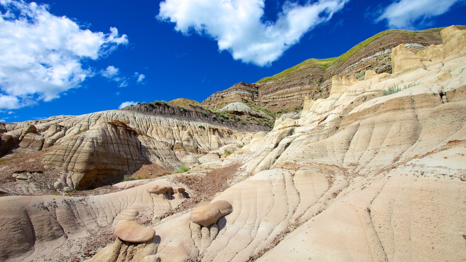 Drumheller which includes a gorge or canyon