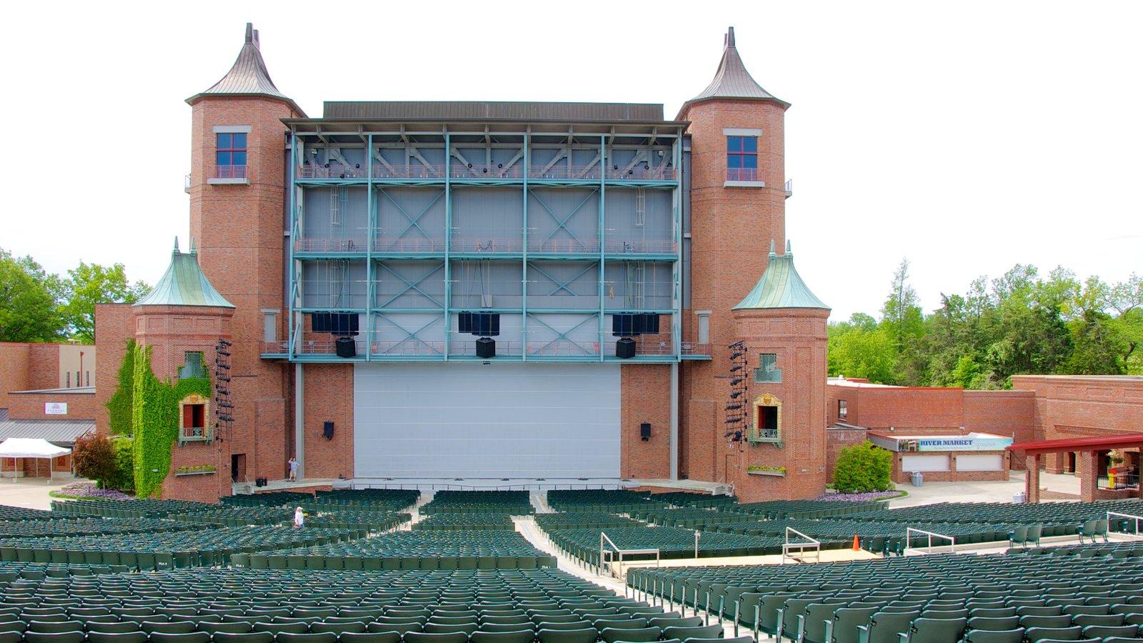 Starlight Theatre caracterizando cenas de teatro