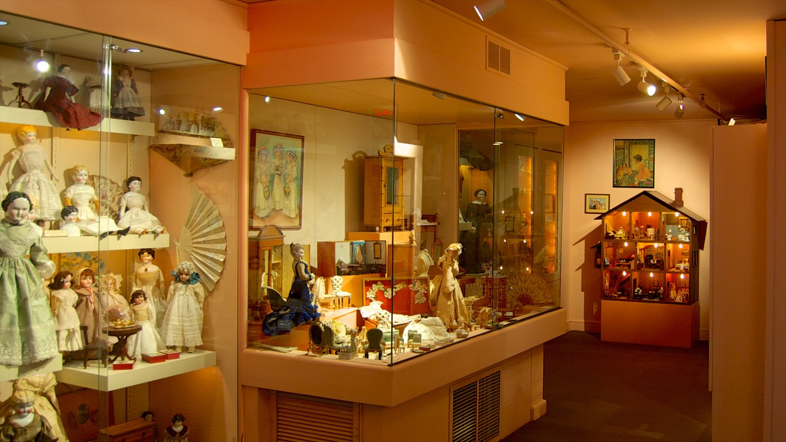 Toy and Miniature Museum featuring interior views