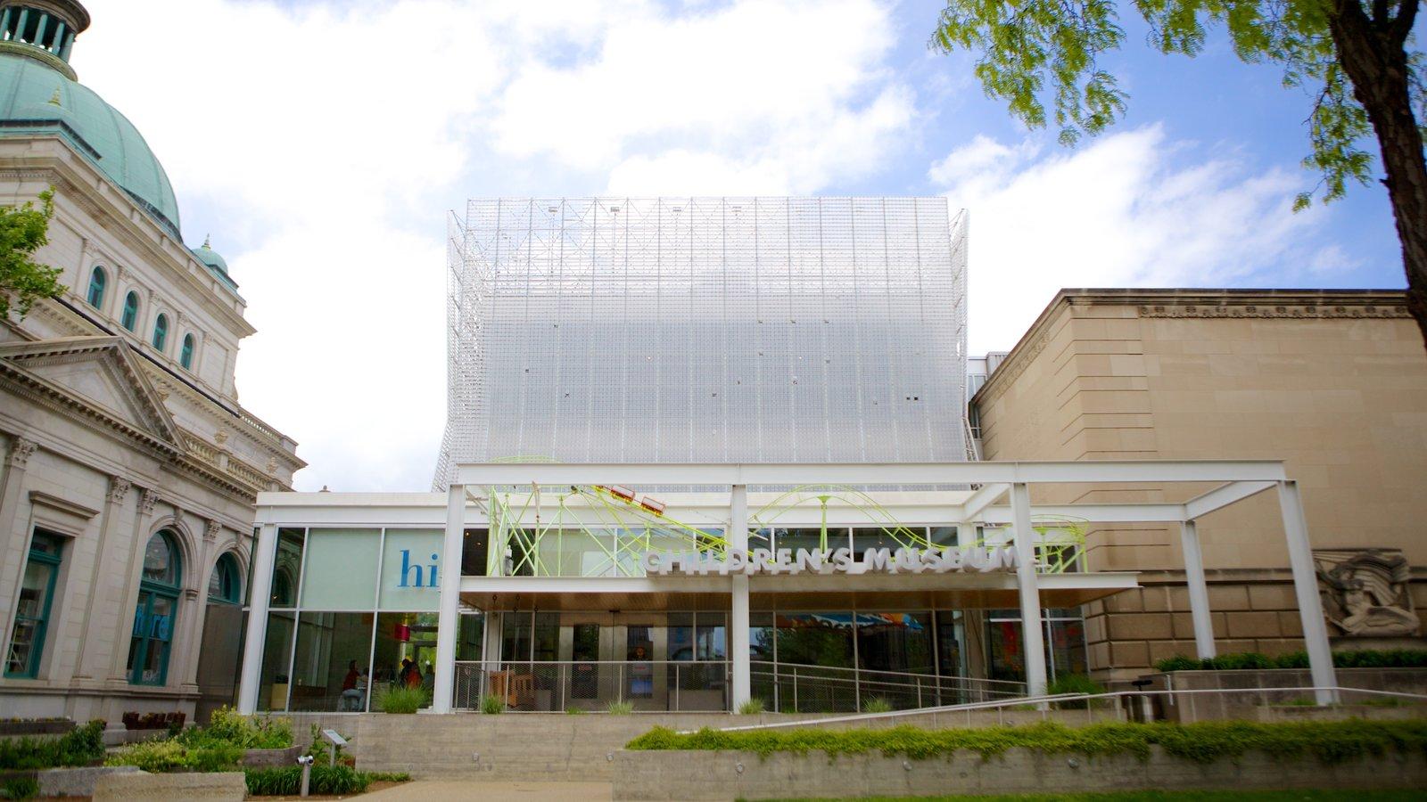 Children\'s Museum of Pittsburgh caracterizando arquitetura moderna