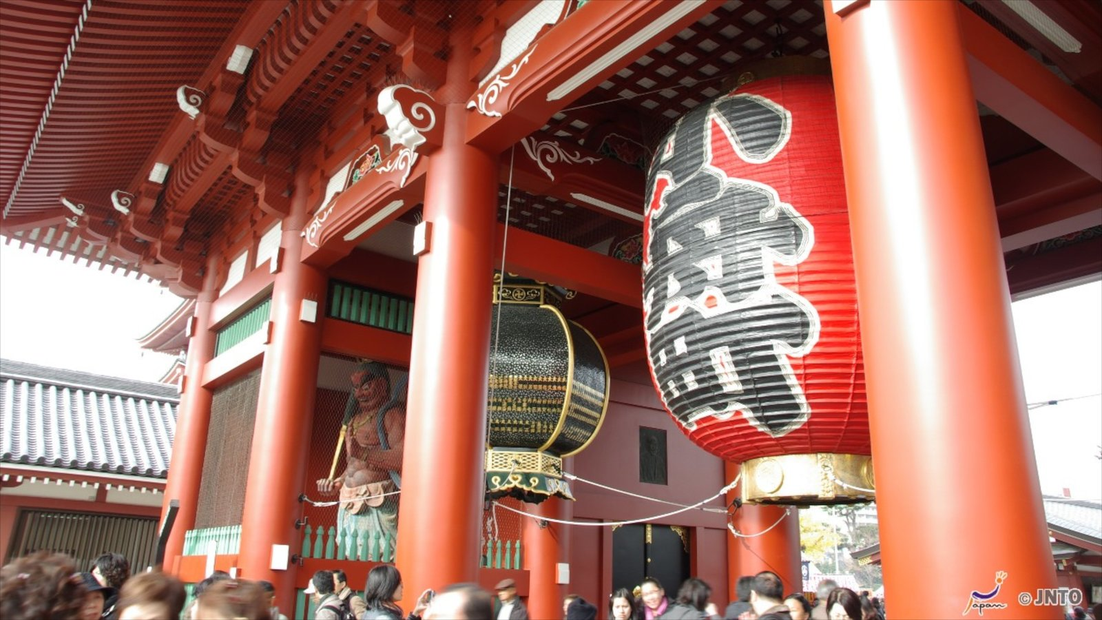 Sensoji Temple featuring religious aspects and a temple or place of worship