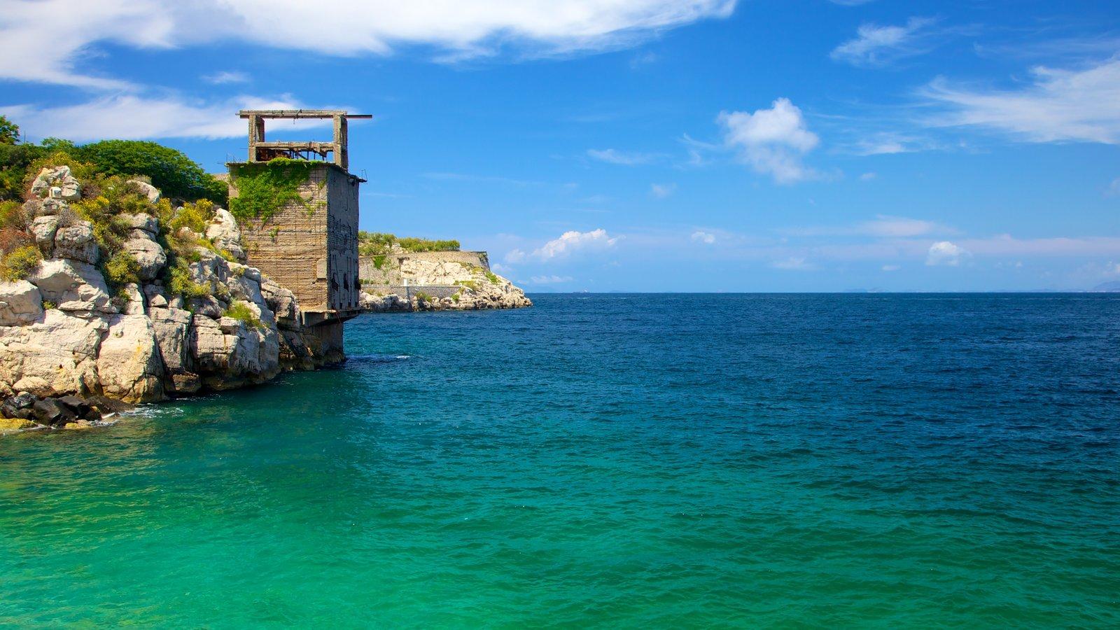 Sorrento featuring rugged coastline