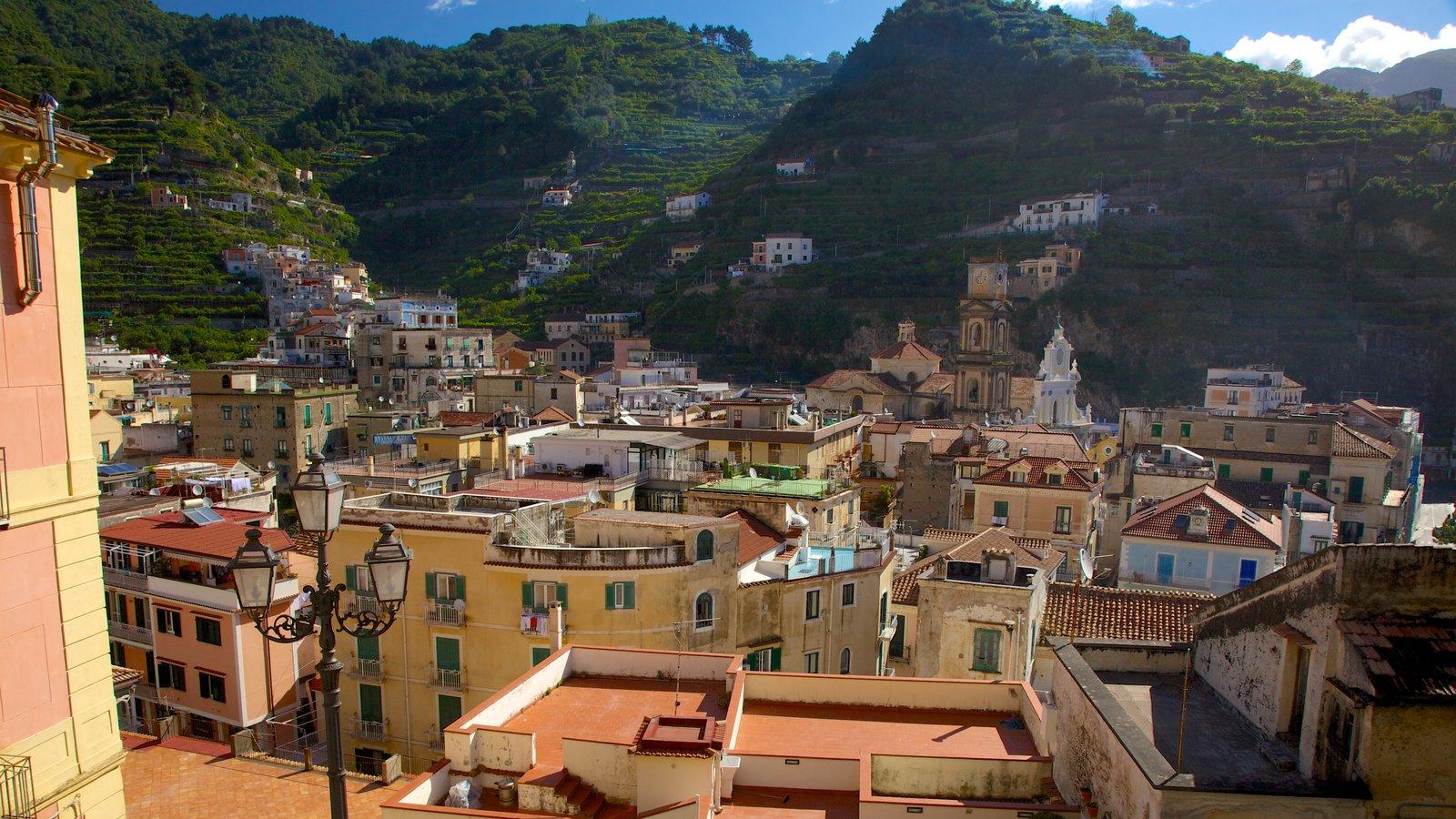 Minori which includes a city