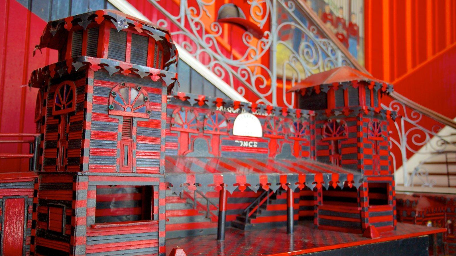 Parque de Bombas mostrando vistas internas