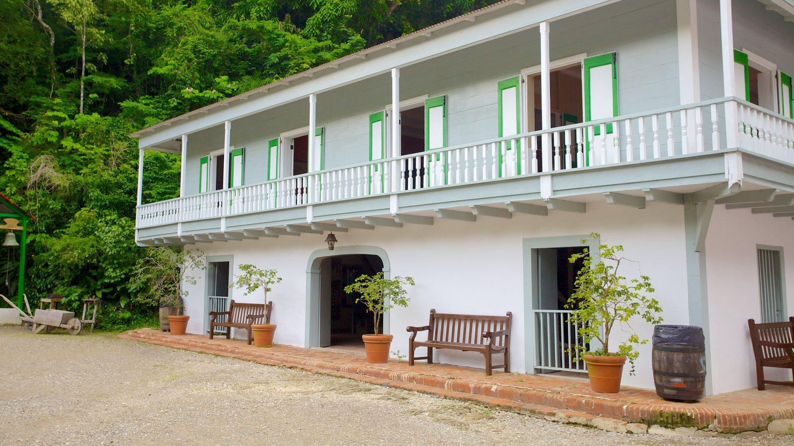 Hacienda Buena Vista which includes a house