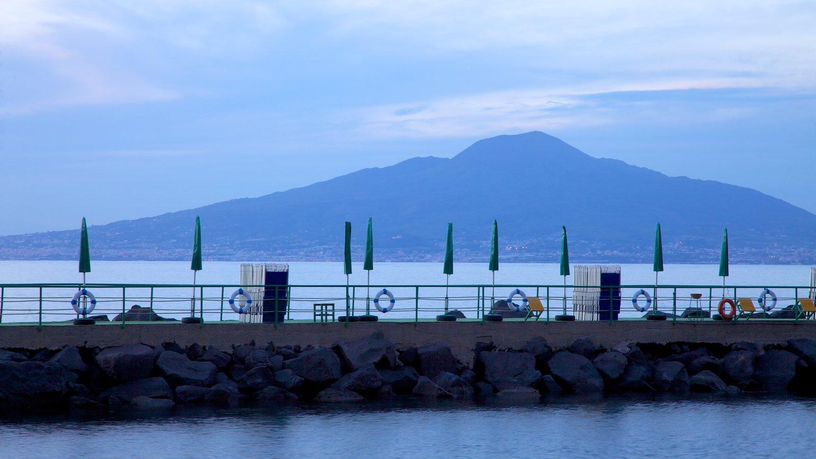 Mount Vesuvius - Pompei featuring general coastal views and mountains