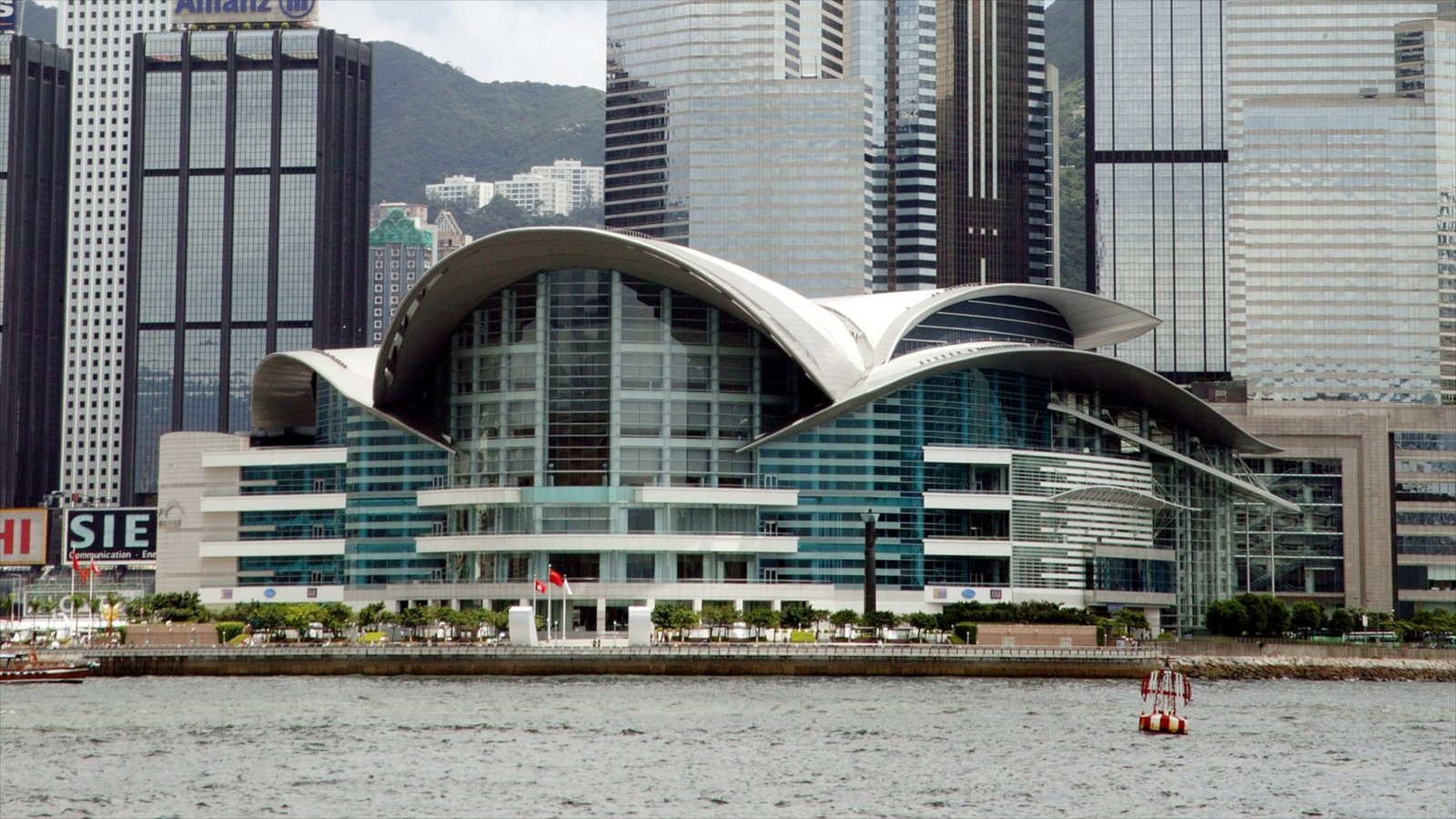 hong kong convention and exhibition centre featuring a city modern architecture and general coastal views - Modern Architecture Exhibition