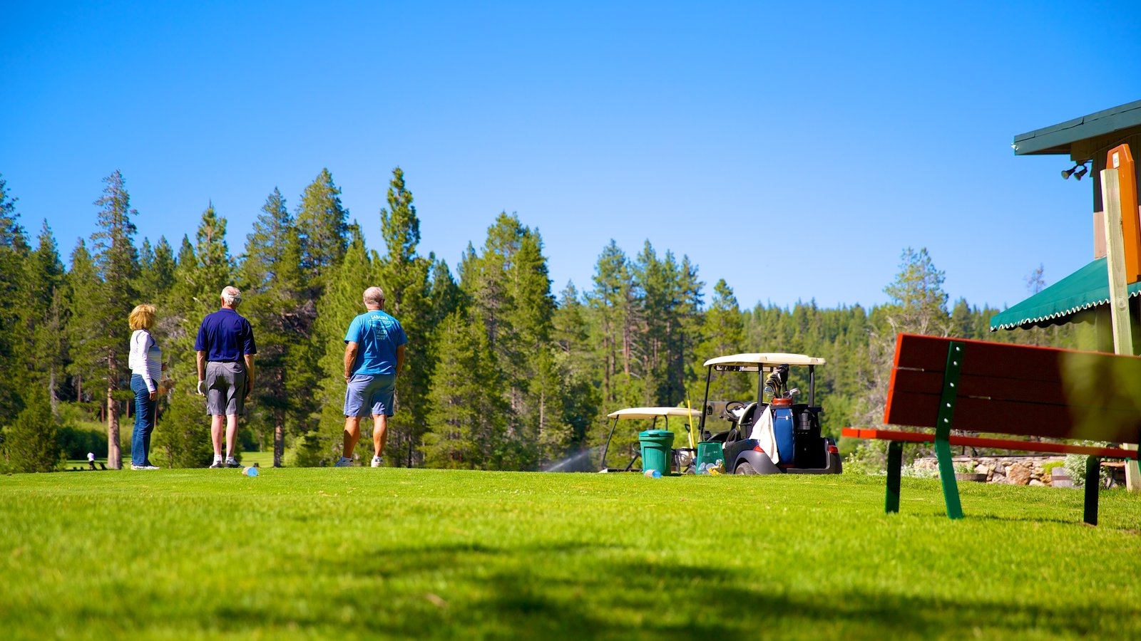 Tahoe City showing golf