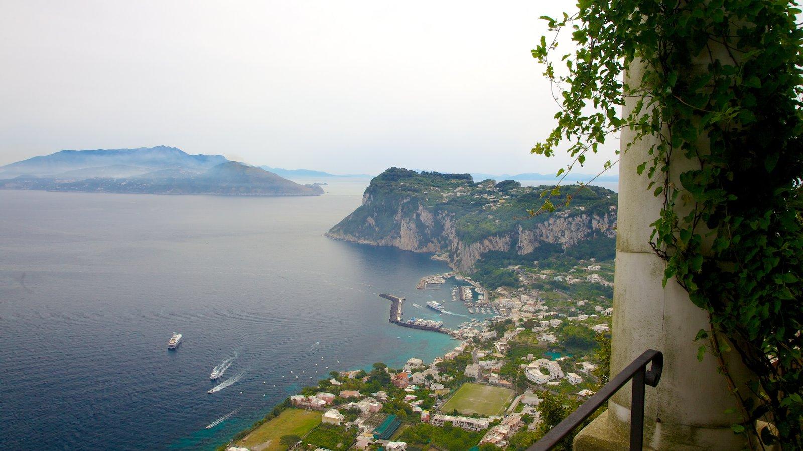 Villa San Michele featuring general coastal views, a coastal town and landscape views