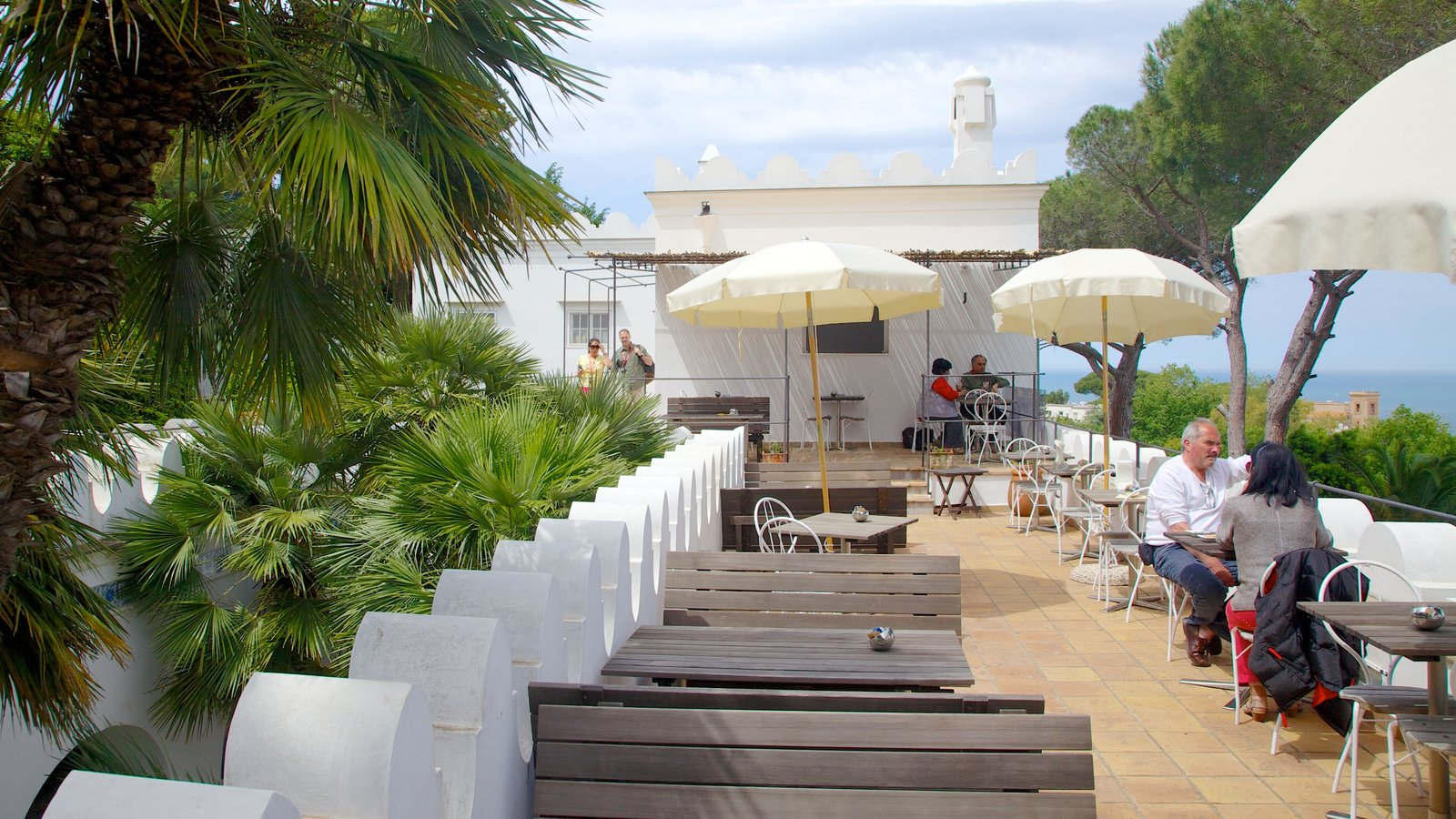Villa San Michele featuring dining out, a coastal town and outdoor eating