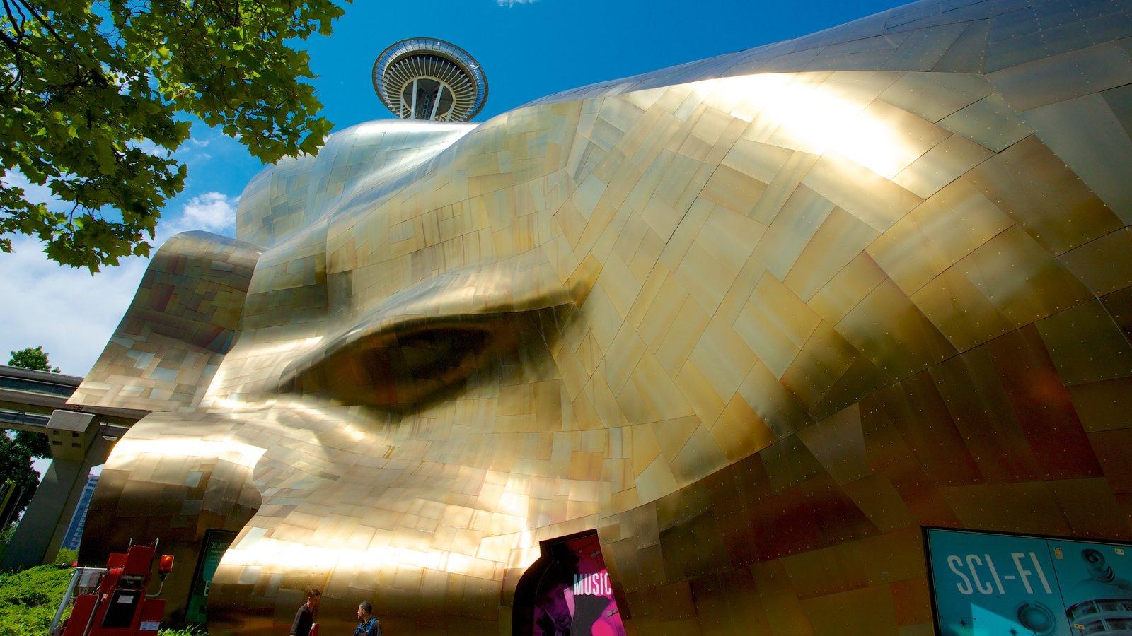 Seattle Center caracterizando arquitetura moderna