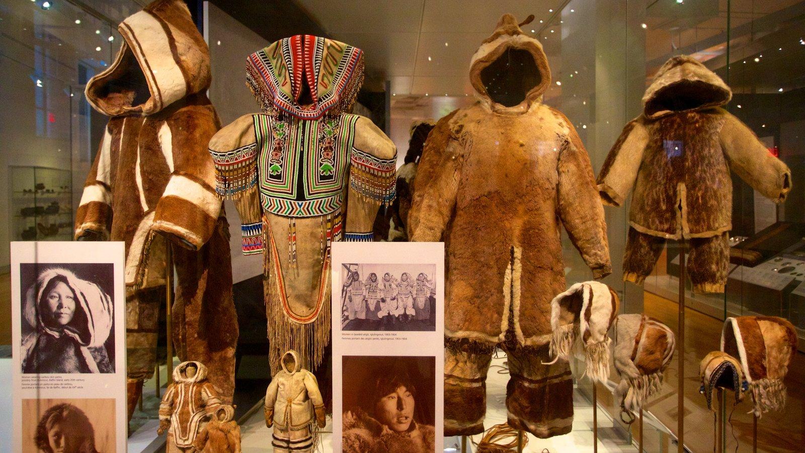 Museu Real do Ontário caracterizando vistas internas