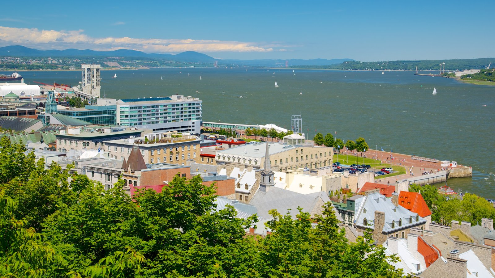 Coastal pictures view images of quebec city for Terrace canada