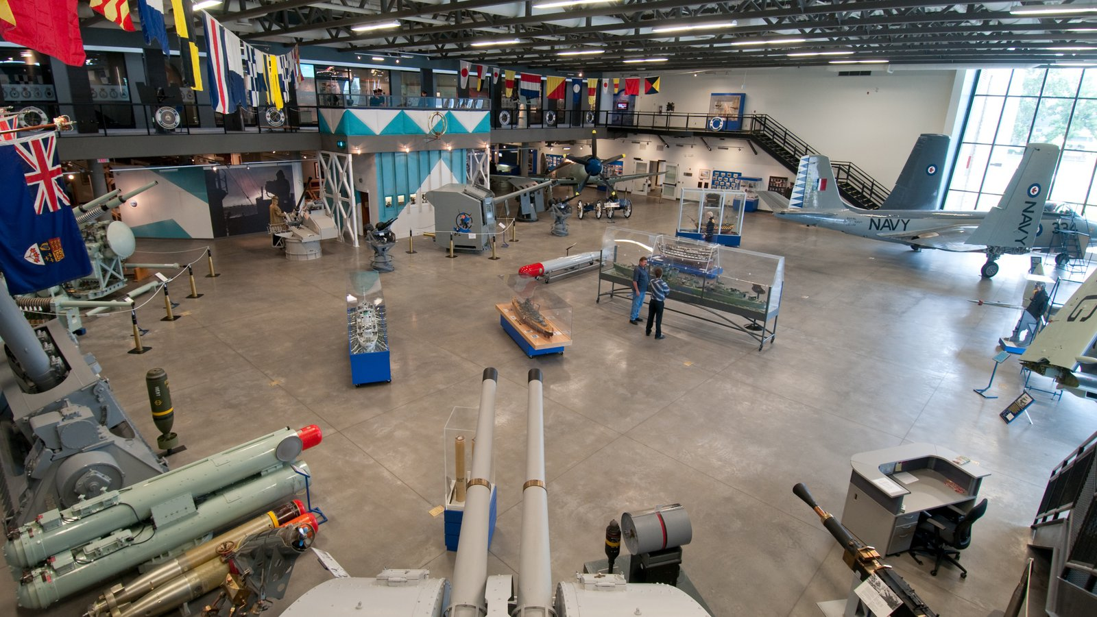 The Military Museums which includes aircraft, interior views and military items