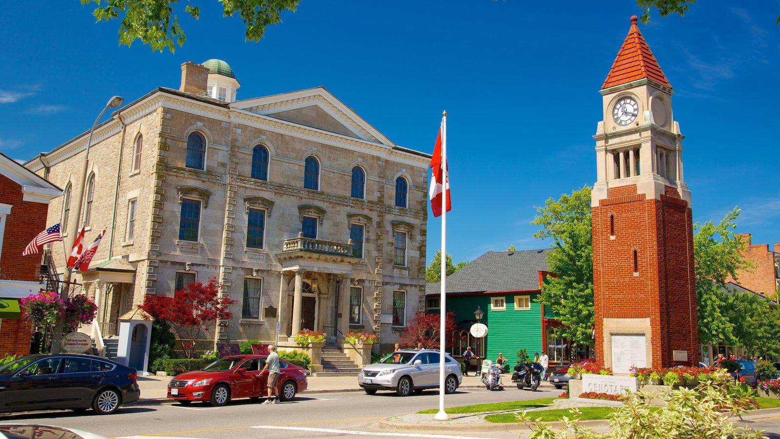Niagara-on-the-Lake que inclui elementos de patrimônio, arquitetura de patrimônio e um edifício administrativo
