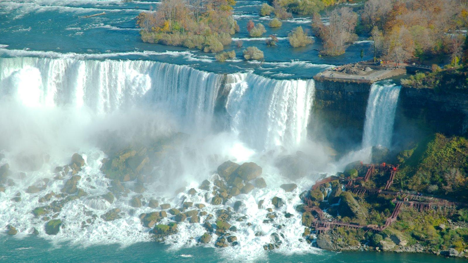 Bridal Veil Falls caracterizando uma cachoeira
