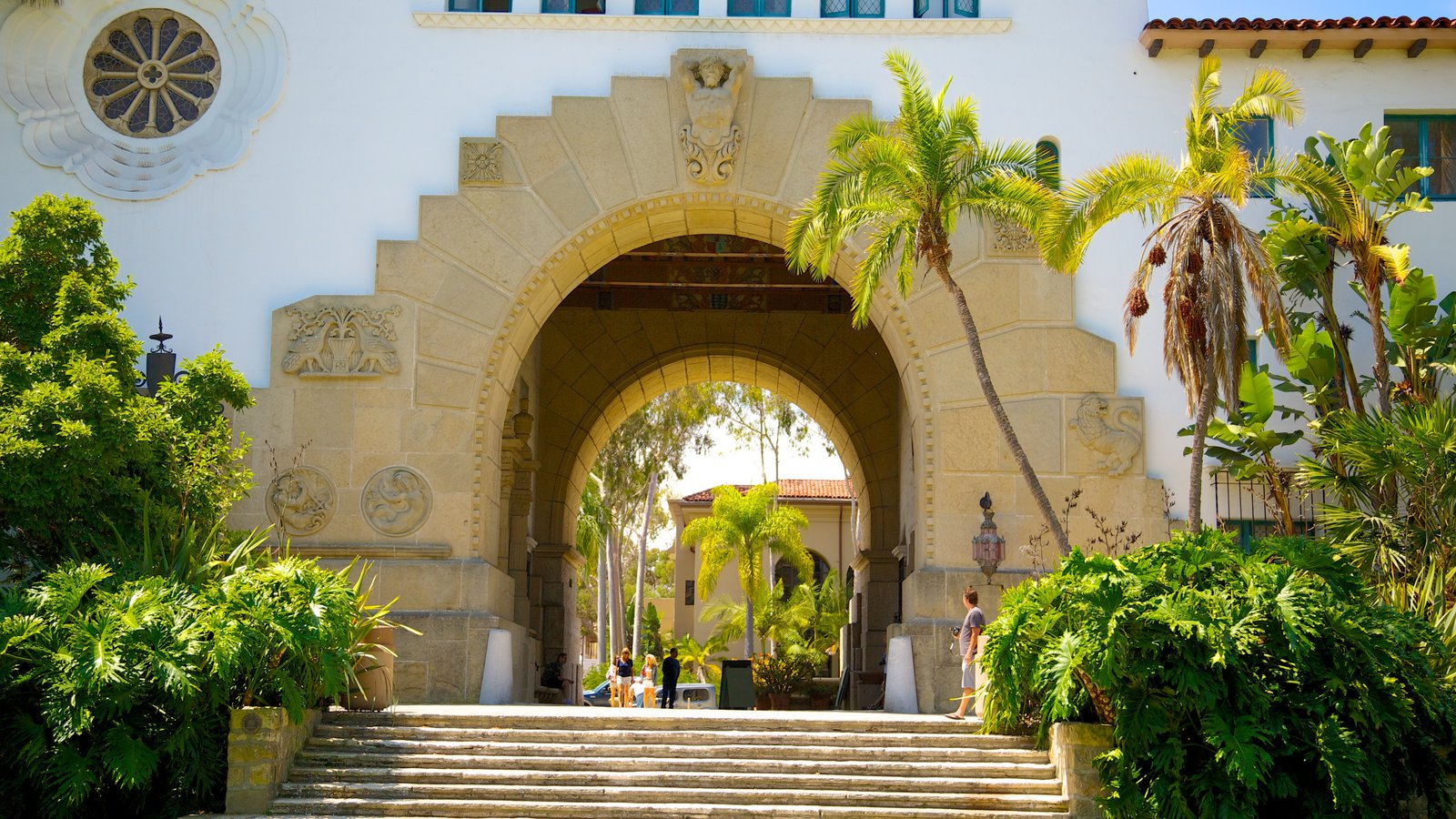 Santa Barbara County Courthouse Pictures: View Photos & Images of ...