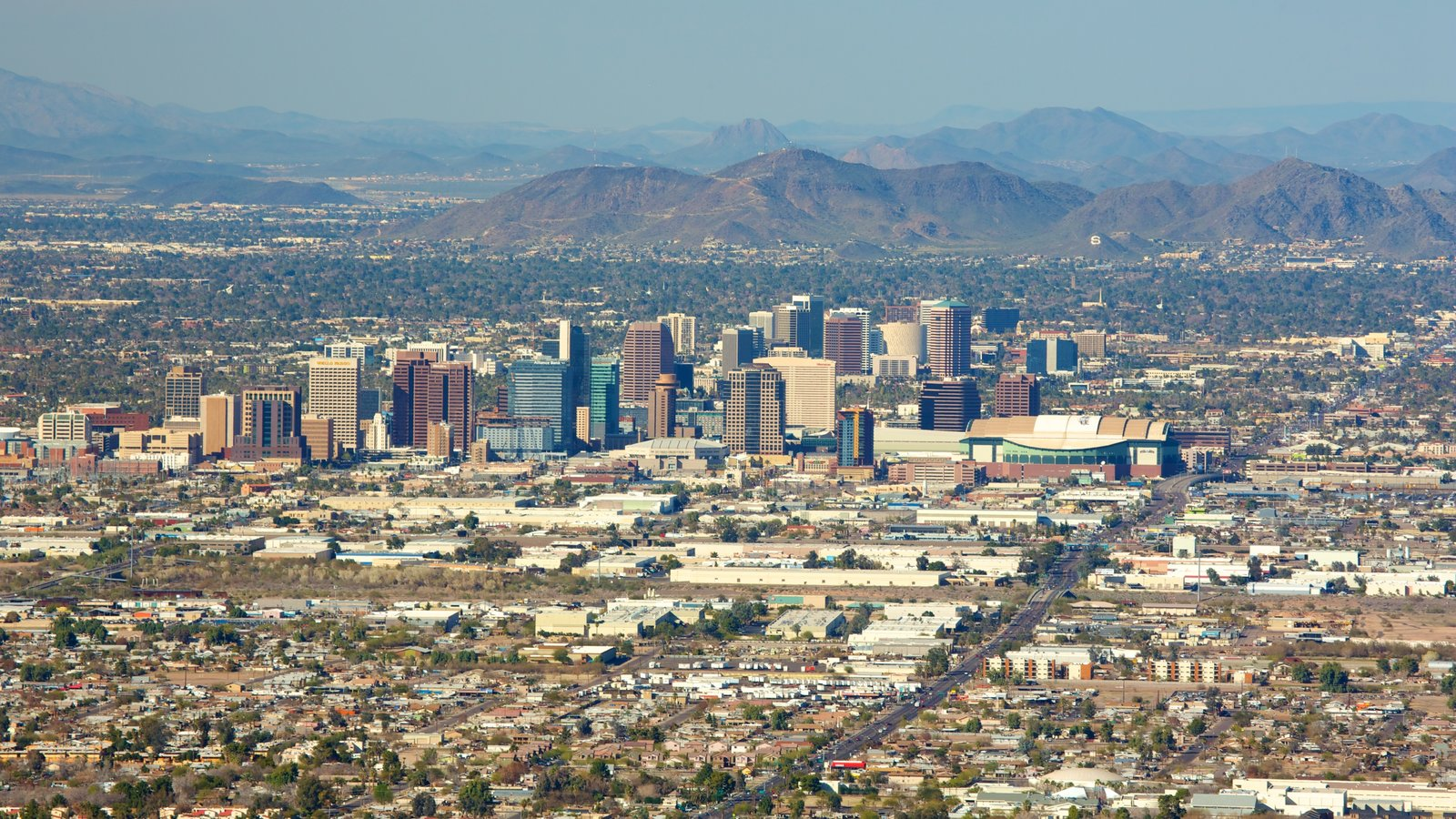 Phoenix featuring a city, landscape views and mountains