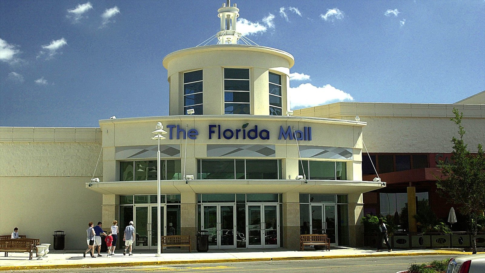 Florida Mall featuring shopping and signage