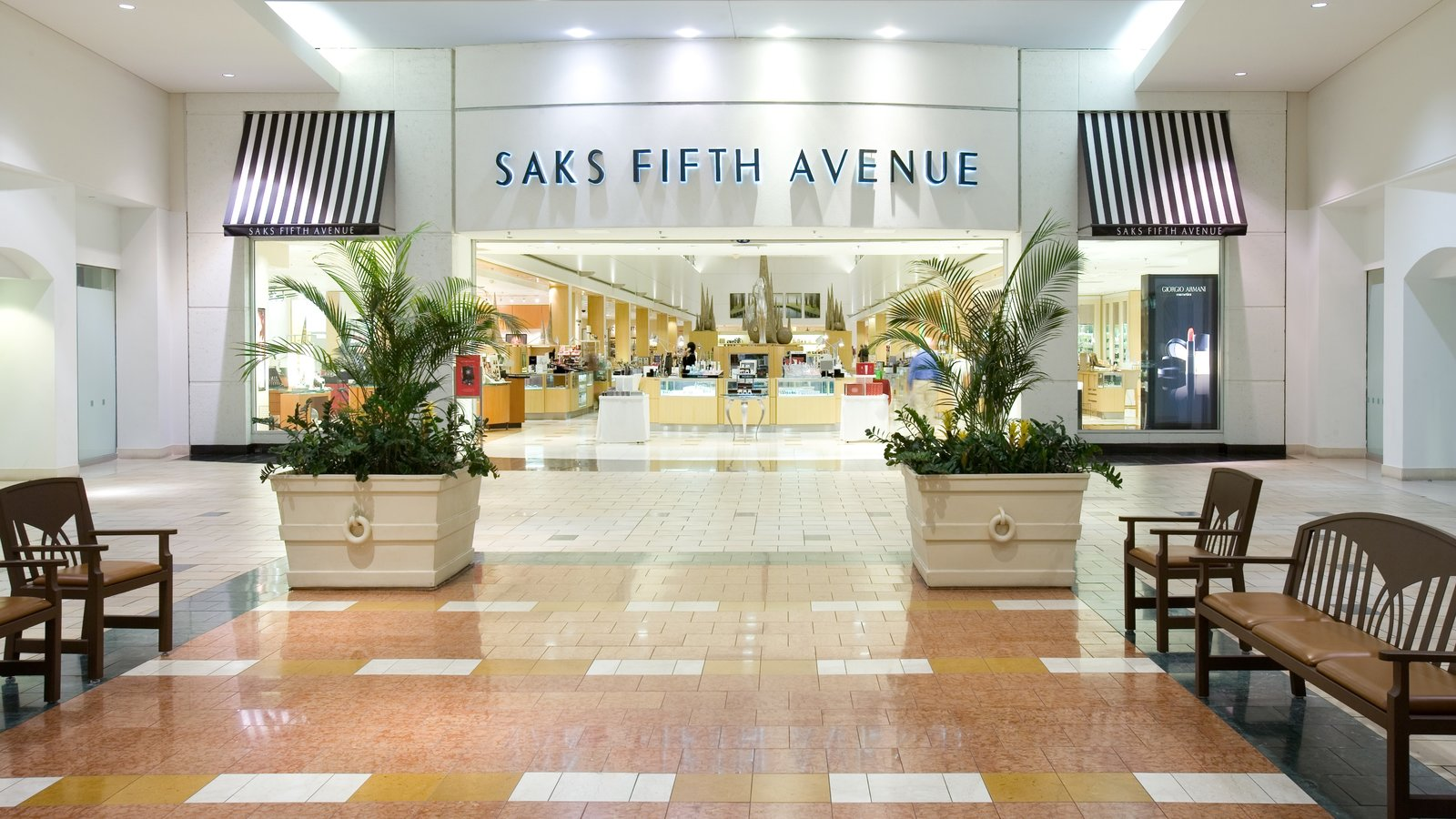 Florida Mall which includes interior views, signage and shopping
